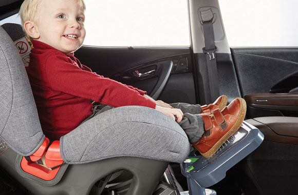 The Car Seat Footrest Is Necessary For Children Who